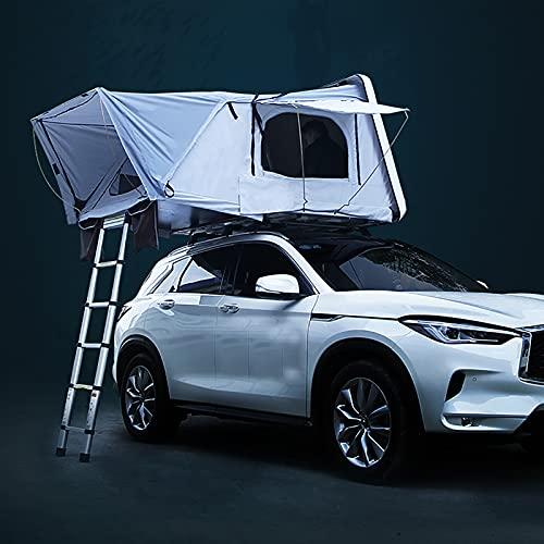 WLDQ Carpa De Cáscara Dura para Acampar Al Aire Libre De Camiones para Acampar Carpa De Techo para 3-4 Personas para Camionetas SUV Viajes por Tierra