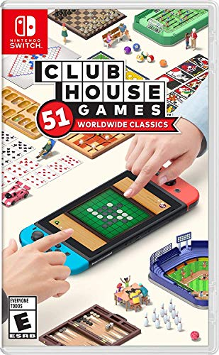 Clubhouse Games: 51 Worldwide Classics - Nintendo Switch