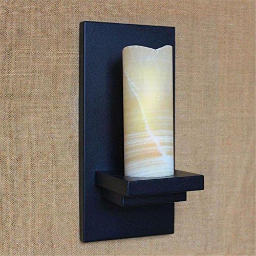 NIHE chambre personnalité créative moderne d'éclairage minimaliste rétro style européen lampe murale en fer forgé éolien industriel
