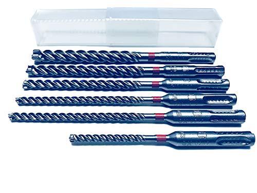 6 tlg. Hilti Bohrer SET - SDS PLUS - TE CX M1 5/120 +6-6-8-10-12/170mm Hammerbohrer