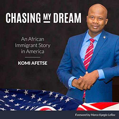 Chasing My Dream audiobook cover art