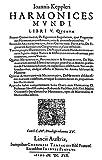 Kepler Harmonices 1619 Ntitelseite (erster Staat) der