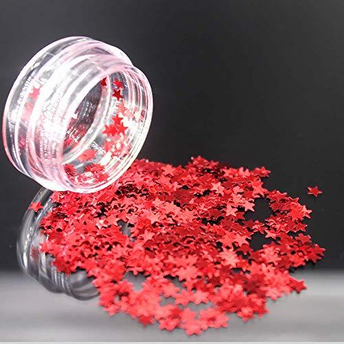 YCSC 1 Piece Bricolage Mode Paillettes Couleur Décoration Nail Decoration Glitter polonais Acrylique Pinceau Nail Set élégant et Beau (Couleur : 12)