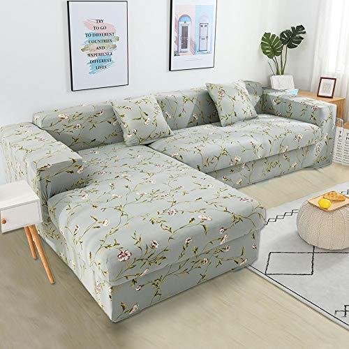 L-vormige sofa-hoes, sectionele bankhoezen, stretch-hoezen voor L-vormige bank sofa-meubelbeschermerhoes