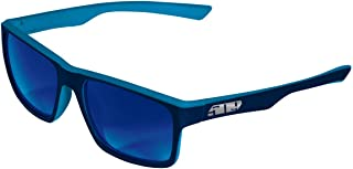 509 Deuce Sunglasses - Cyan Navy (Polarized Blue Mirror)