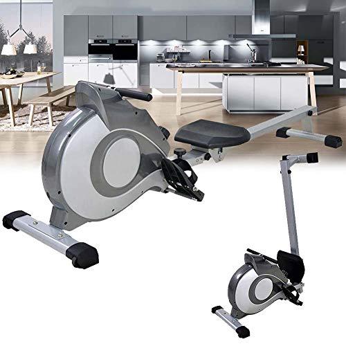 ZZAZXB Máquina de remo magnética plegable para apartamentos silenciosos, entrenamiento cardiovascu