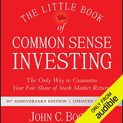 The Little Book of Common Sense Investing     The Only Way to Guarantee Your Fair Share of Stock Market Returns, 10th Anniversary Edition              Written by:                                                                                                                                 John C. Bogle                               Narrated by:                                                                                                                                 L. J. Ganser                      Length: 5 hrs and 50 mins     66 ratings     Overall 4.5