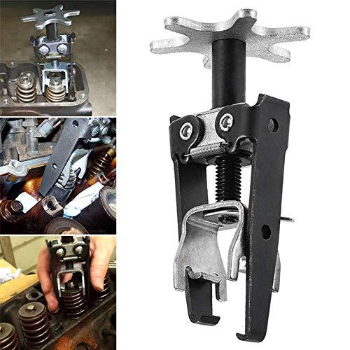 Percetey Federspanner für KFZ, Einfacher Stoßdämpferwechsel | Universal Cars Motor-Überkopfventil Federspanner Installateur Remover Backenschaft Dichtungswerkzeug für PKW & Motorrad