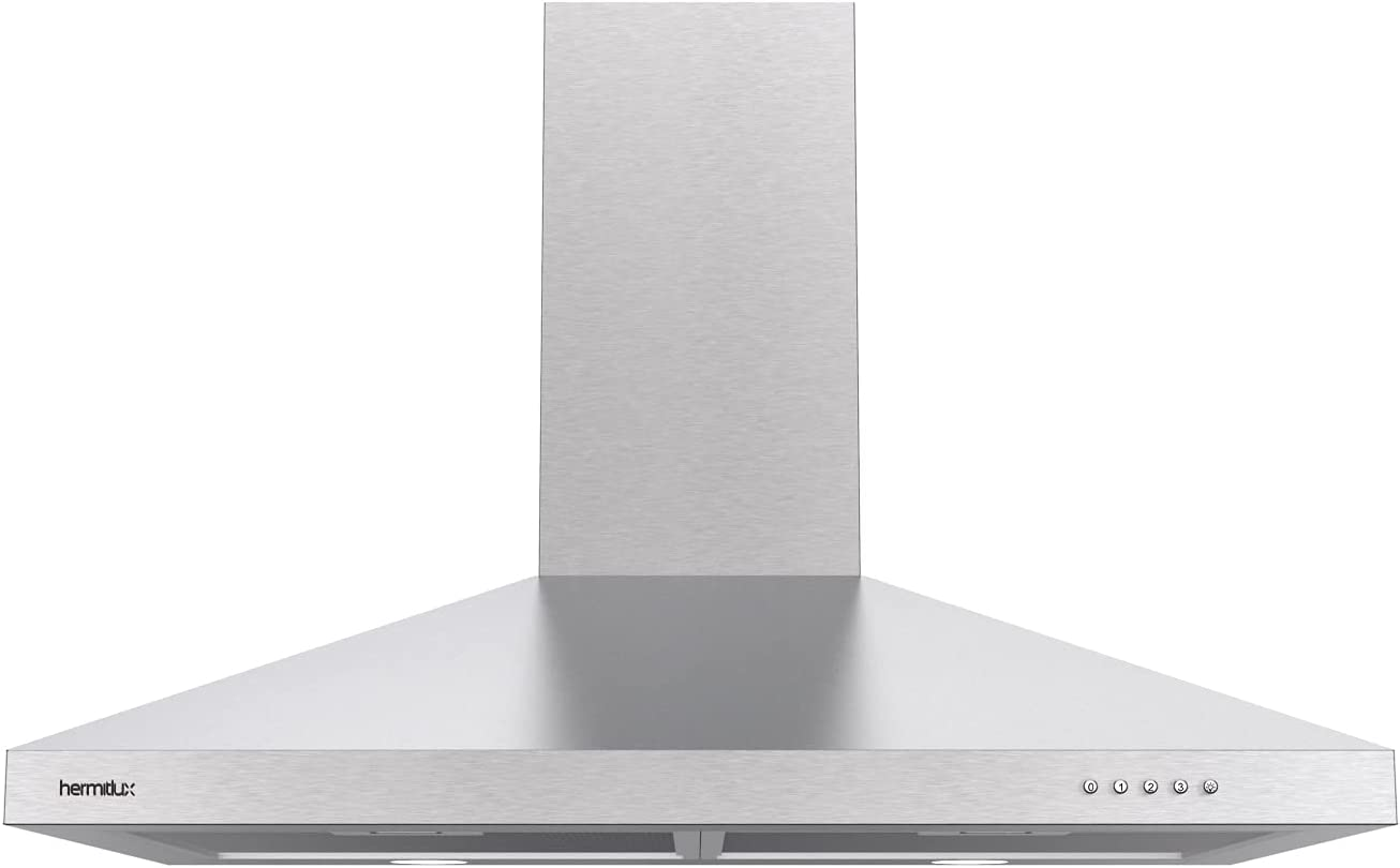 Wall Mounted Range Hood Ducted With Aluminum filte 30in Reusable Price Max 40% OFF reduction