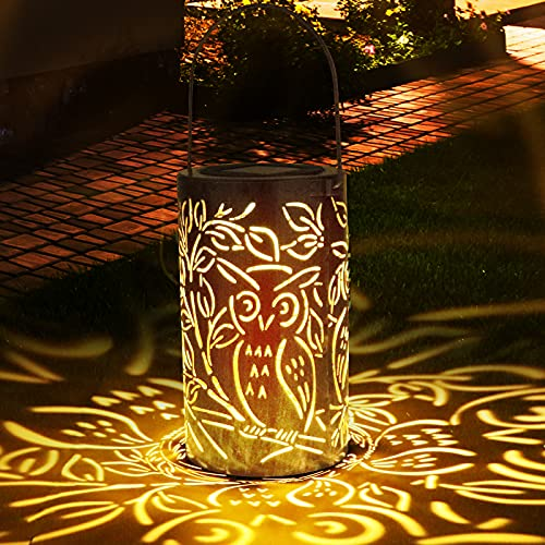 Linterna Solar Exterior, Zorara Farolillo Solares 30 Leds Colgante Luz Solar Exterior Jardín IP65 Impermeable, Farol Solar Metal Lámpara Color Cálido Luce para Terraza Camino Mesa Patio Decoración