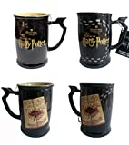 Harry Potter Marauders Map Heat Reactive Heat Changing Ceramic Mug...