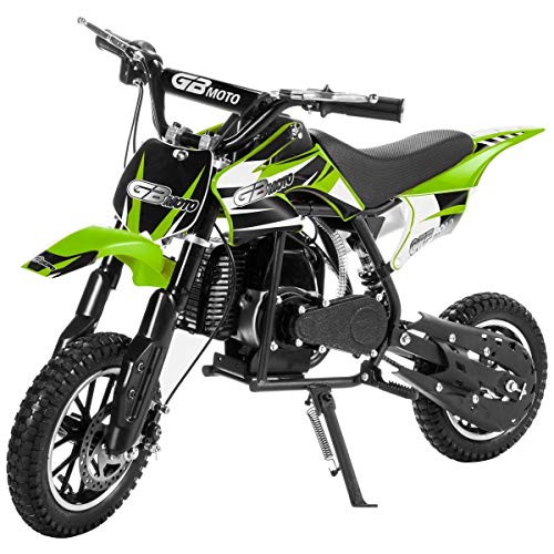 XtremepowerUS 49CC 2-Stroke Gas Power Mini Pocket Dirt Bike Dirt Off Road...