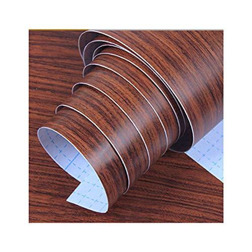 Alisar Grano De Madera Papel Tapiz, Inmarchitable Retirable Papel Tapiz Autoadhesivo Adecuado Para Dormitorio Salón Decoración Renovación De Muebles Antiguos-A-45X1000cm(18X394pulgada)4.5㎡