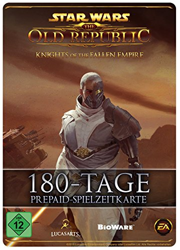 Star Wars : The Old Republic - 180 Tage-Prepaid-Abonnement-Spielzeit-Code [PC Online Code]