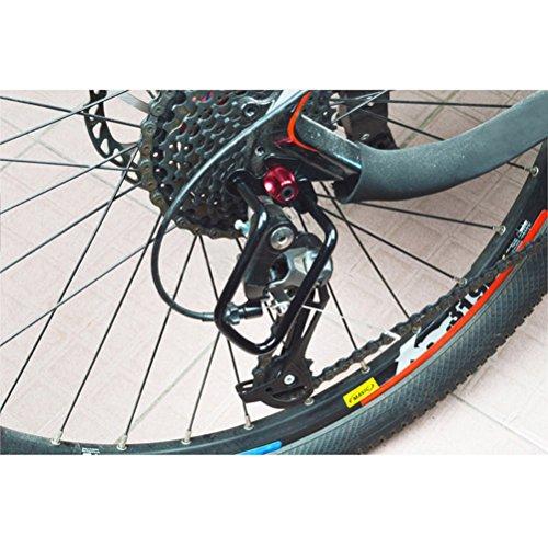 VORCOOL Universal Mountainbike Schaltwerk Schutzfolie (Schwarz) - 6