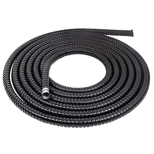 TINGCHAO Bellows Pipe Metal Manguera Longitud 50 MERTE Cable De Alambre Corrugado Llama De Llama Tubo Utilizado EN INGENIERÍA del Sistema DE ENTRADOR DE Alambre,Dia 20mm
