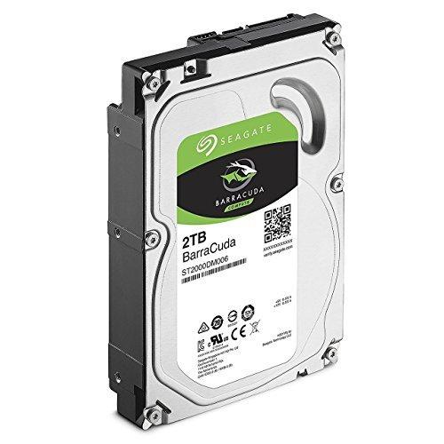 2TB SEAGATE BARRACUDA ,7200 SATA 3 6GB/S 7200RPM 64MB CACHE 8MS INTERNAL HARD DRIVE - OEM, ST2000DM006