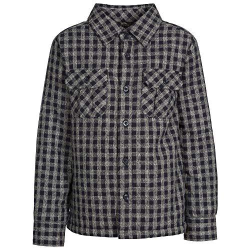 Trespass kinderen/kinderen gemiddelde lange mouwen Gingham Shirt
