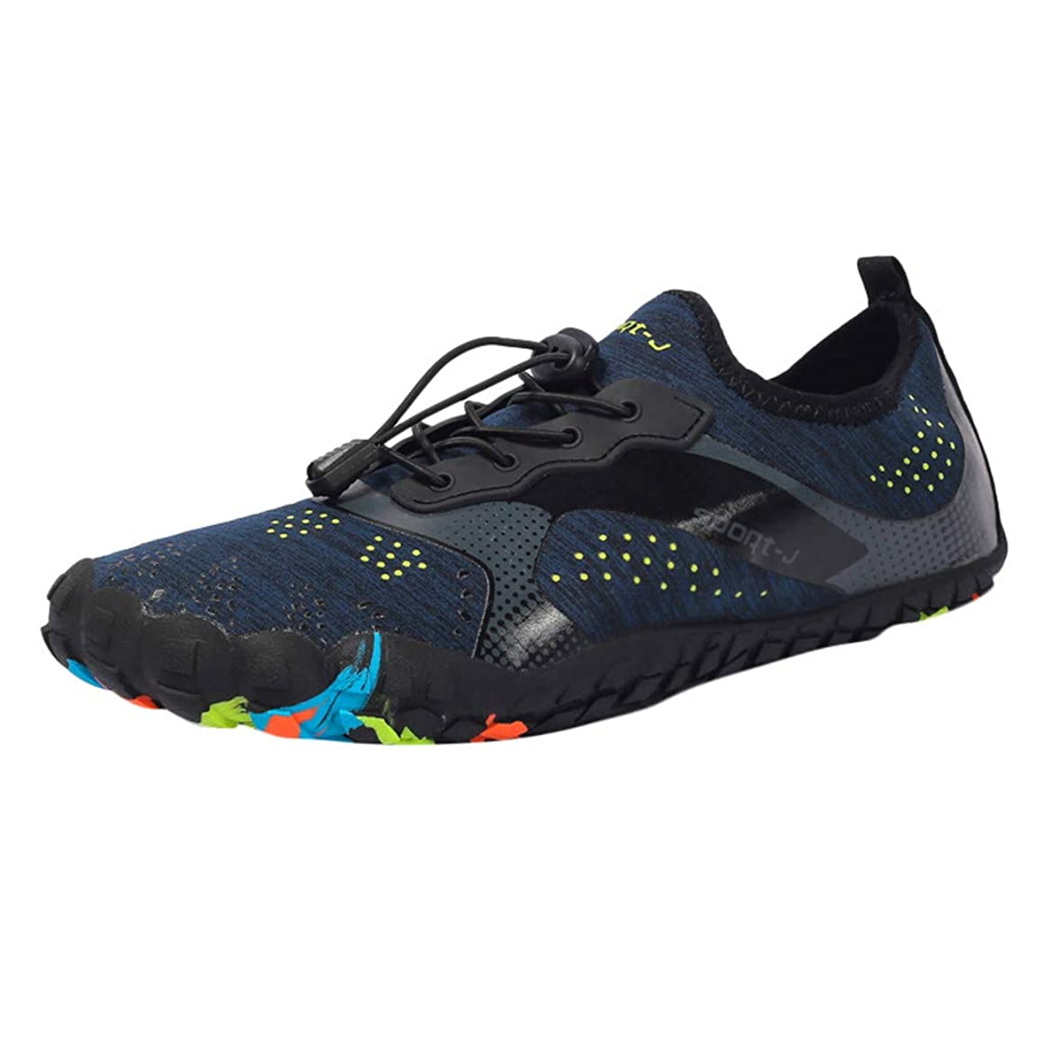 Outique Surf Pool Walking Yoga Shoes,Unisex Quick-Dry Water Shoes Toe Sport Beach Swim Drawstring Creek Diving Shoes