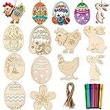 Decorazioni in legno di Pasqua