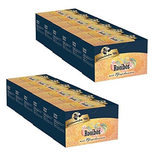Goldmännchen-TEE Rooibos Pfirsich 12er Pack