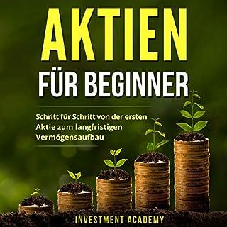 Aktien für Beginner:  Titelbild
