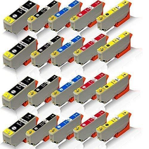 20x kompatible Tintenpatronen für Epson Expression Premium XP-620 XP-625 XP-700 XP-710 XP-720 XP-800 XP-810 XP-820 T-2621 T-2631 T-2632 T-2633 T-2634 BK PBK C M Y - Office Pro Serie