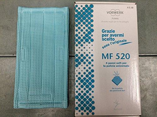 1Universal-Wischtuch Soft MF520 für Vorwerk Kobold Saugwischer SP520, SP530