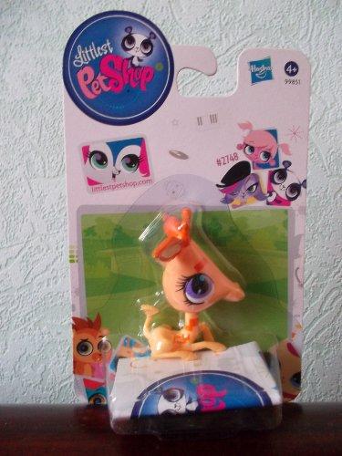 Nouveau Look Littlest Petshop 2748 Petshop Single Girafe pêche