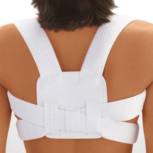 Bort StabiloFix Shoulder Posture Correction Upper Back Brace-White by Bort Medical