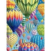 DIY 5D Diamond Hot Air Balloon Painting Kit