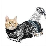 ★ Matériau de haute qualité : ce sac de bain en filet pour chat est fabriqué en polyester doux, respirant, durable et peut être utilisé pendant longtemps ; il est facile à égoutter et à sécher, ce qui permet à votre chat de se sentir à l'aise et déte...