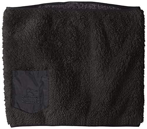 [チャムス] ネックウォーマー Bonding Fleece Neck Warmer Black 日本 Free (FREE サイズ)