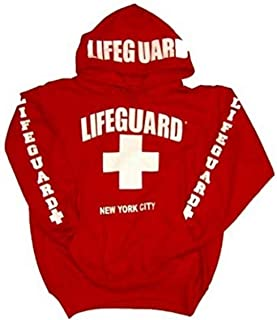 New York City Hoodie - Size: Adult Medium - Color: Red