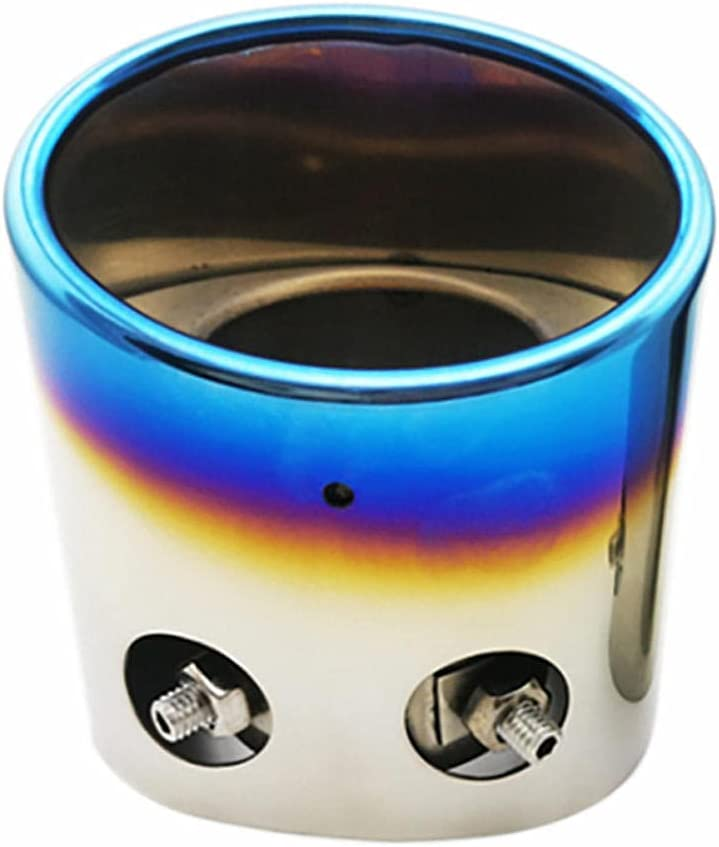 NFRADFM Sacramento Mall Exhaust Tail Pipe Pi Max 57% OFF Anti-Corrosion Durable and