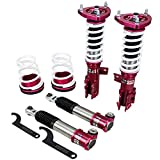 Godspeed MSS0102-B MonoSS Coilover Lowering Kit, Fully Adjustable, Ride Height, Spring Tension And 16 Click Damping, compatible with Kia Forte (TD) 2010-13