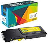 Do it Wiser Compatible Toner Cartridge Replacement for Dell S3840cdn S3845cdn 593-BCBD Yellow