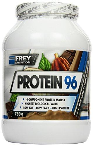 Frey Nutrition Protein 96 Schoko Dose, 1er Pack (1 x 750 g)
