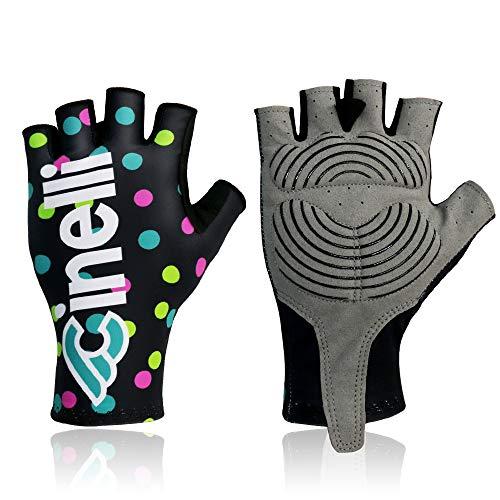 Guantes para hombre y mujer de verano con medio dedo, guantes de...