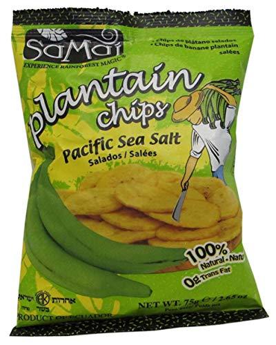 Chips de bananes plantains salées - Samai - 75 g