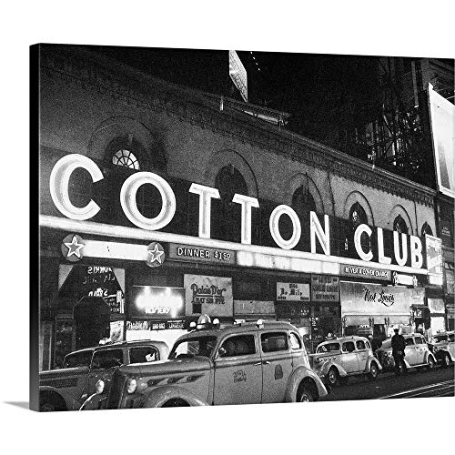 """GREATBIGCANVAS Gallery-Wrapped Canvas Harlem: Cotton Club, 1930S by 14""""x11"""""""