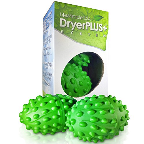 The Best Permanent Non Toxic, Allergy & Chemical Free Fabric Softener Dryer Balls