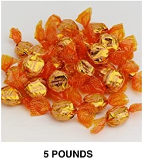 Golightly BUTTERSCOTCH Hard Candy, 5 lb, Sugar Free, Individually wrapped (about 600