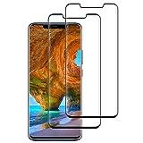 Verre Trempé pour Huawei Mate 20 Pro, Film Protection en Verre Trempé-[Couverture...