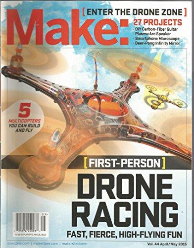 Make Magazine (April/May 2015,Drone racing)