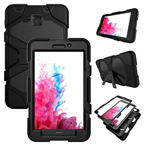RZL Pad y Tab Fundas para Samsung Galaxy Tab A A6 7.0 Pulgadas, Funda de Stand de Silicon Kickstand para Samsung Galaxy Tab A A6 7.0 Inch 2016 T280 T285 SM-T280 SM-T285 (Color : B)