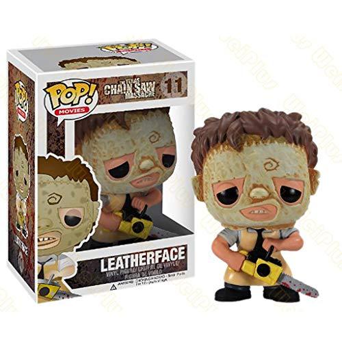 C&S Texas Kettingzaag Massacre POP Leatherface Figuur Film Vinyl Figuur Landschap Decoratie Ornamenten Hars Ambachten Pop