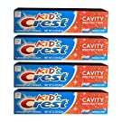 Kids Crest 2.2 Ounces Toothpaste (4 Pack)