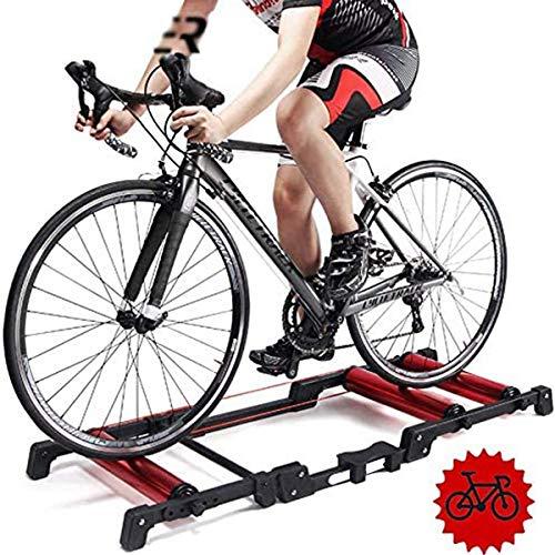 TANCEQI Rodillo De Ciclismo Plegable Y Ajustable En Casa Soporte Rodillo De...