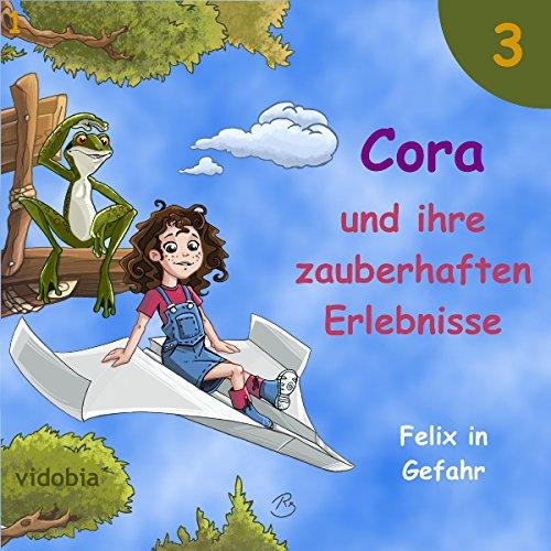 Felix in Gefahr: 7 Geschichten für Kinder zum Hören - Spaß für Klein und Groß (Cora und ihre zauberhaften Erlebnisse 3) Titelbild